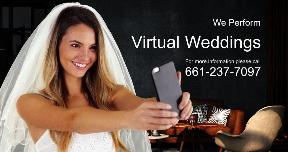 We Perform Virtual Wedding